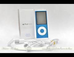 My New iPod Nano Chromatic ..[Blue] ({ahradwani.com} Hawee Ta3kees- ) Tags: blue stilllife apple still nikon ipod advertisement ali explore hassan nano product brand 2009 brands doha  homestudio sampleimages  d90   explored sampleshot  ipodadvertisement  18105mm explore09 nikond90  nikond90club nikon18105mm hawee 18105mmlens  explore2009   explorejune09 haweeta3kees   ta3kees ahradwanicom ahradwani nikond90sampleimages