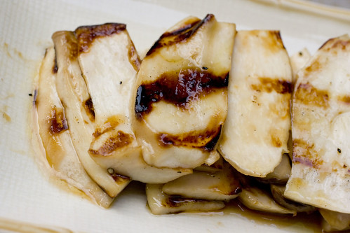 Grilled King oyster Mushrooms 2