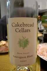 2007 Cakebread Napa Valley Sauvignon Blanc