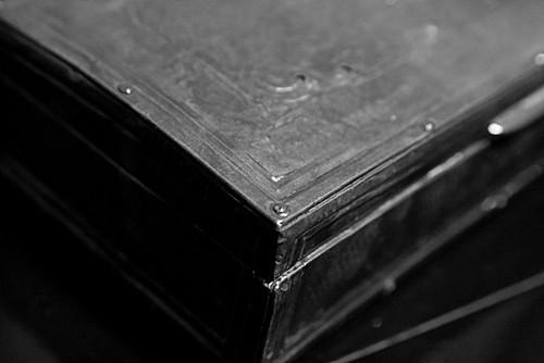 Antique Silver Box BW IMG 4282