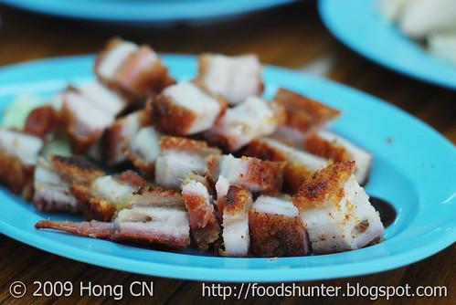 Roasted Pork - my favourite appertizer