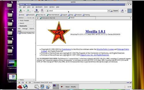 mozilla 1.0.x sous Red Hat 8.0