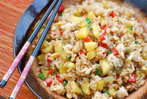 thai pineapple fried rice 1
