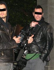 Paparazzi at Nobu (identities protected) just like TMZ!