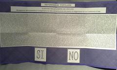 Referendum - foto di emanuele75 su Flickr - click