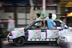Election 1 (Alieh) Tags: persian election iran persia iranian panning  esfahan isfahan        aliehs alieh      saadatpour  mirhosseinmousavi