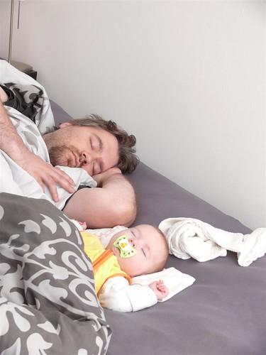 Paparazzi machen nicht mal vorm Schlaf halt