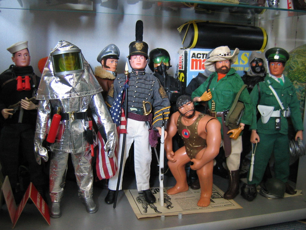 Part of my vintage GI.JOE / Action Man collection 7