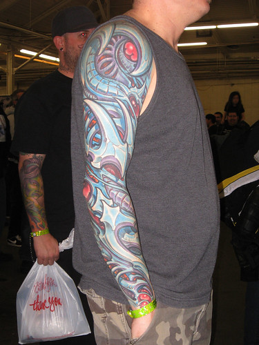 Bio-Mechanical Tattoo Sleeve