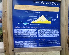 Info board (Le Moulleau, Aquitaine, France) Photo