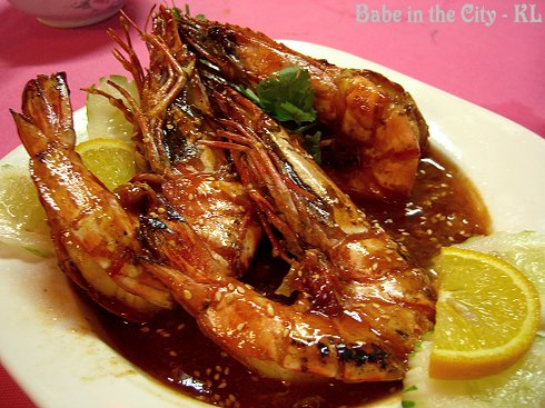 Cheese Honey Prawns (RM21)