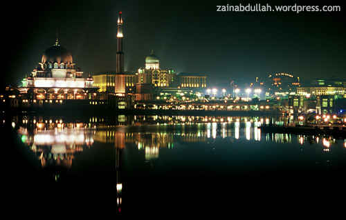 Putrajaya by night