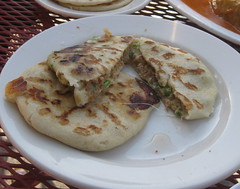 Balompie Cafe 3 in San Francisco - Pupusa