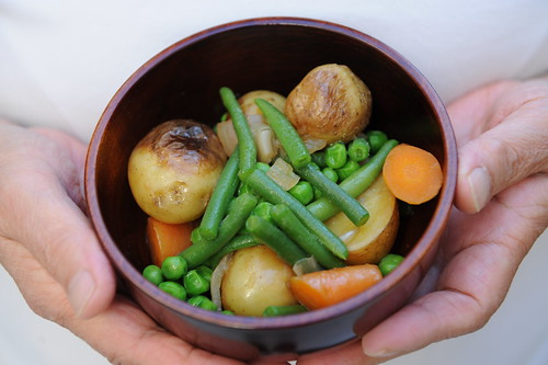 Summer vegetables, simply cooked