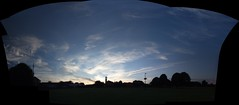 skyscape pano (Geoff_B) Tags: autostitch clouds bristol 2009 eveningstroll southmead 10millionphotos badockswood 29june2009