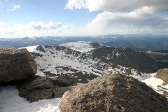 Panoramic survey from the summit (webzeppelin) Tags: vacation colorado mtevans