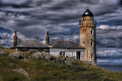 Small Light (Graham Stirling) Tags: seagulls lighthouse clouds island stirling graham firthofforth isleofmay
