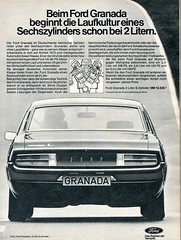 ford granada (1976) (sonjasfotos) Tags: ford vintage advertising granada oldtimer werbung reklame caradvertising