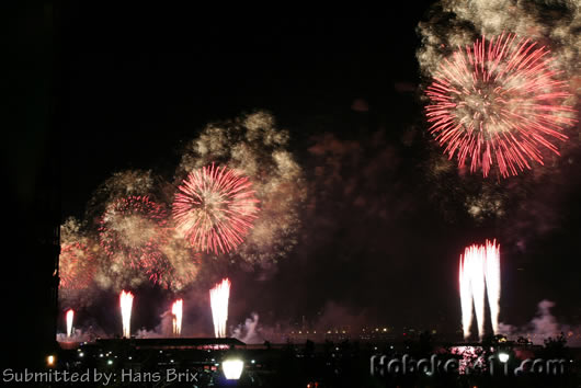 Hoboken Macys Fireworks Reader Photo Hans Brix