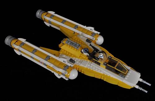 Mini Lego Arc 170 Starfighter Instructions