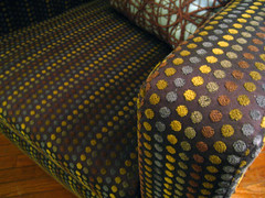 (inside, part deux). (twojangles) Tags: home chair dot dotted athome day224 toddoldham dailyinspiration