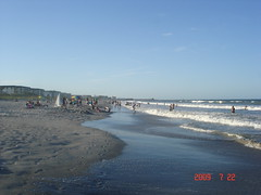 DSC04162 (iguanathompson) Tags: sun clouds sand surf waves florida atlanticocean boogieboard neale cocoabeach bodysurfing ronjonsurfshop