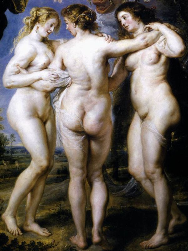 Pieter Paul Rubens - As três graças
