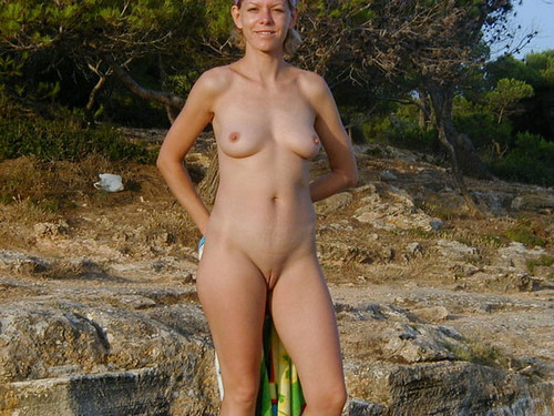 candid topless beach holiday feet pics: wife, milf, sexy, pussy, tits, nudebeach