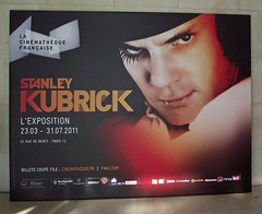 EXPOSITION STANLEY KUBRICK / PARIS /
