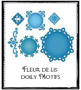 bFleur de lis Doily Motifs