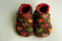 ~SALE~  *Newborn* Autumn Love OBV Lined Booties