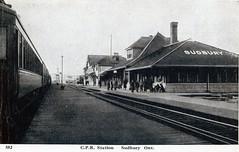 Sudbury - CPR Station C192y (363FroodRd / 573PineSt) Tags: sudbury sudburyon
