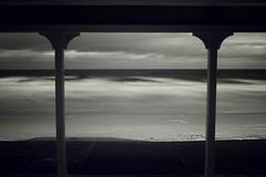 A room with a view (Szmytke) Tags: sea sky cloud beach water topv111 landscape ir coast scotland sand waves tide sigma shore infrared pavillion hoya 1850 r72 banffshire
