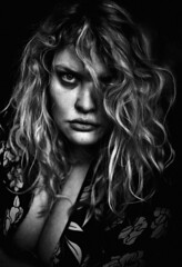 (Samantha West) Tags: portrait woman selfportrait self goodmorning samanthawest wednesdaybefore9am