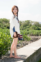 (swanky) Tags: portrait people woman cute girl beauty canon asian eos model asia pretty taiwan babe taipei   2008 taiwanese 30d  dcview   mikako   mikako1984
