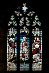 Stained glass by Kempe - West Haddon