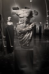 draped torso (extrabox) Tags: white black torso metropolitanmuseum draped greekromanart timewemet