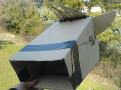 Henniraof Cardboard Horse