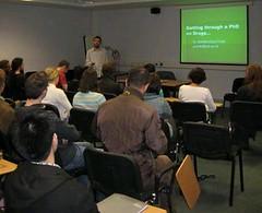 seminar: getting through a PhD on drugs