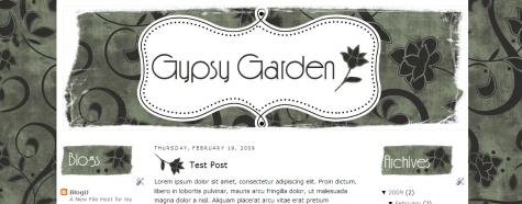 Gypsy Garden Template