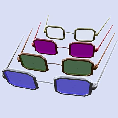 Octo Rim Wire Frame Glasses