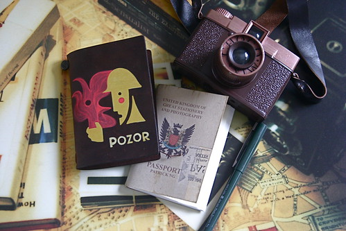 Traveler's Notebook Passport Size por Patrick Ng
