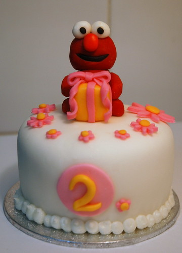 Elmo mini Cake