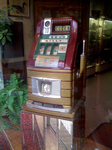 Antique Dime Slot Machine