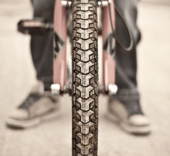 ~ BMX Bike ~ (Komatoes) Tags: uk bike bicycle wheel 50mm nikon bmx dof bokeh nuts tire sneakers trainers explore dirt devon shallow dust f18 36 tread fp tyre mongoose bmxbike pedalpower pedalbike d40 bmxbicycle bmxbmx 247bokehlife yesnuts bmxbikecloseuppic