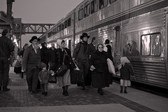 Generations (K-Szok-Photography) Tags: family people blackandwhite canon trains socal human amtrak transportation canondslr fullerton canon70200f4l fullertoncalifornia alltrains betterinblackandwhite flickrslegend passengerterminals