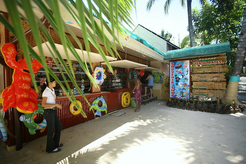 convenience store at Paradise Island