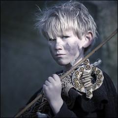 Young Irish Warrior (Tony Murphy) Tags:
