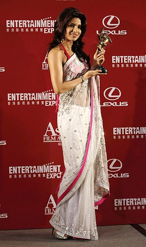 Priyanka Chopra celebrates the Nielsen Box Office Award
