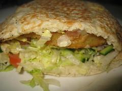 Veggie Pita from Nandos
